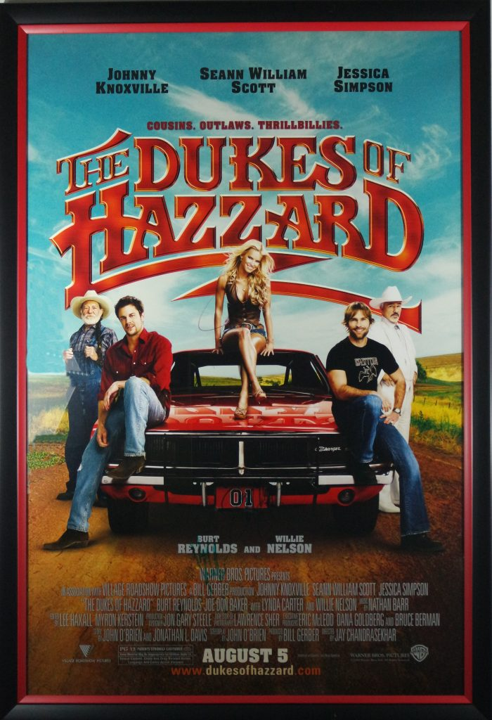 Quot The Dukes Of Hazzard Quot Autographed Movie Poster Csd