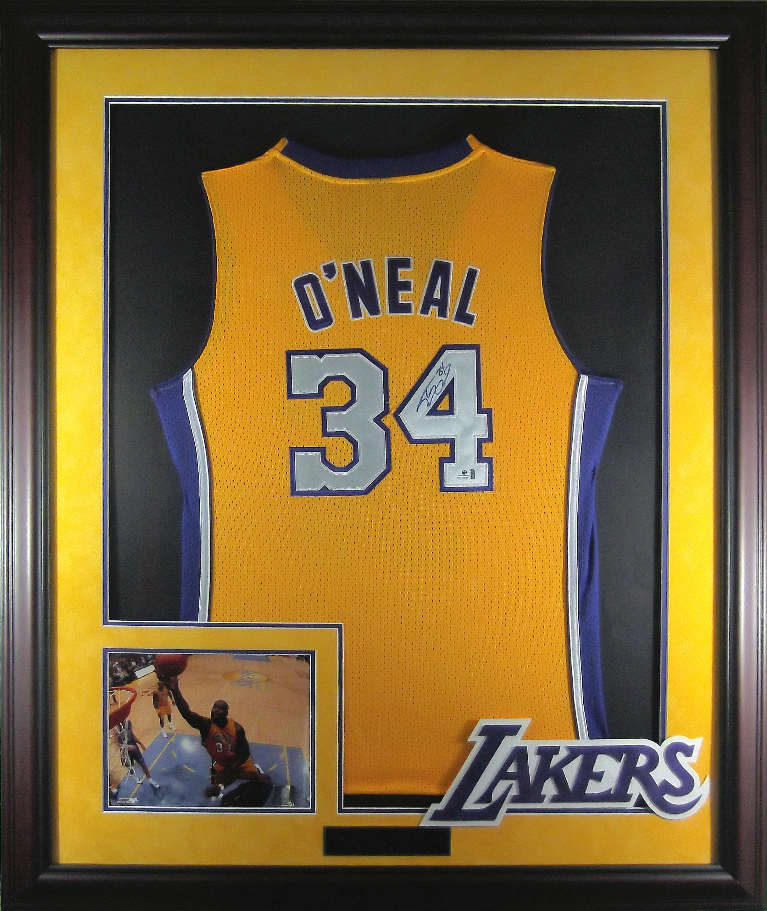 17c8a0ee Shaquille O'neal Autographed Los Angeles Lakers Jersey | CSD Memorabilia